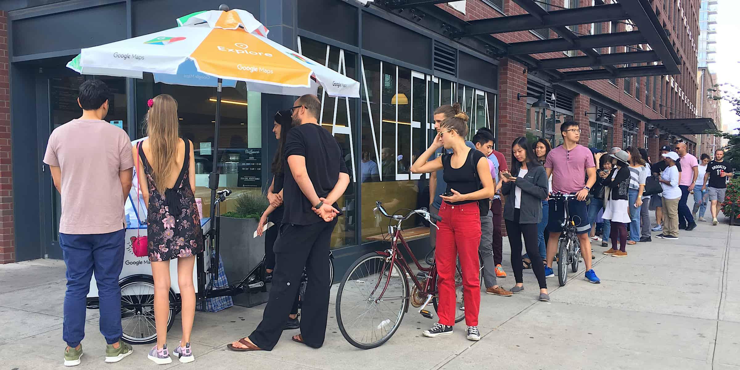 App install creative marketing strategy - North Williamburg, Brooklyn