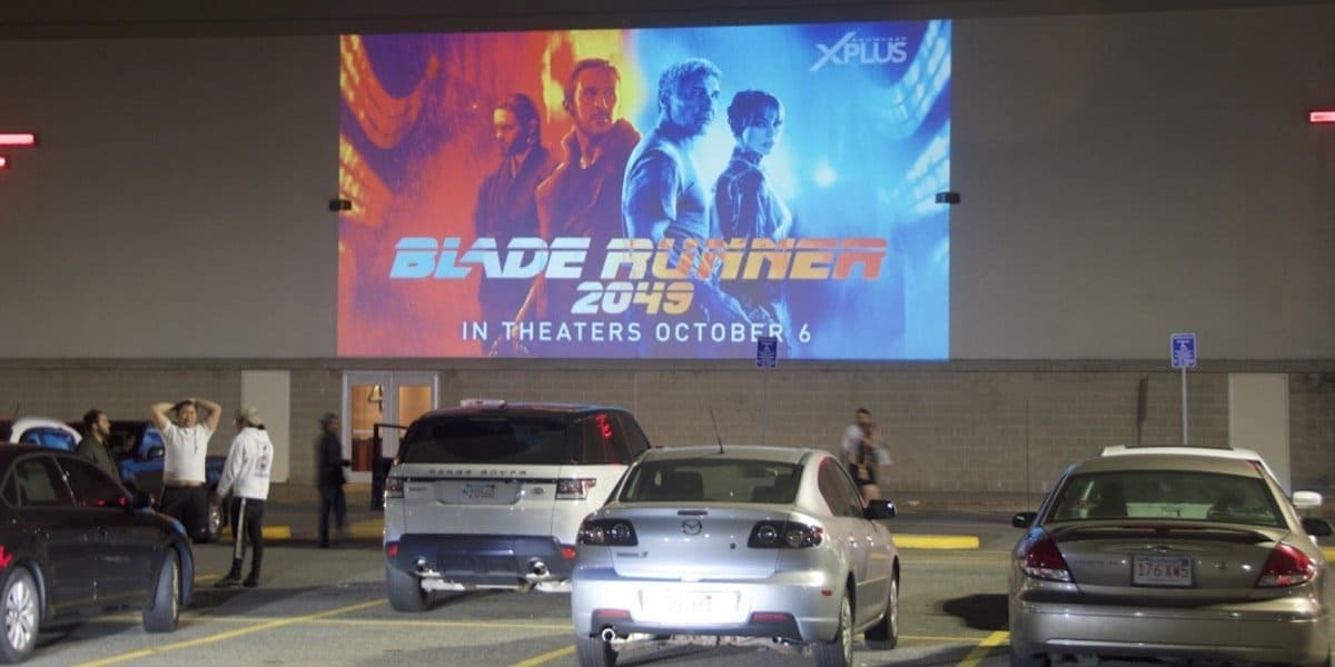 Blade Runner Movie Release Building Advertising Projection - Boston, MA