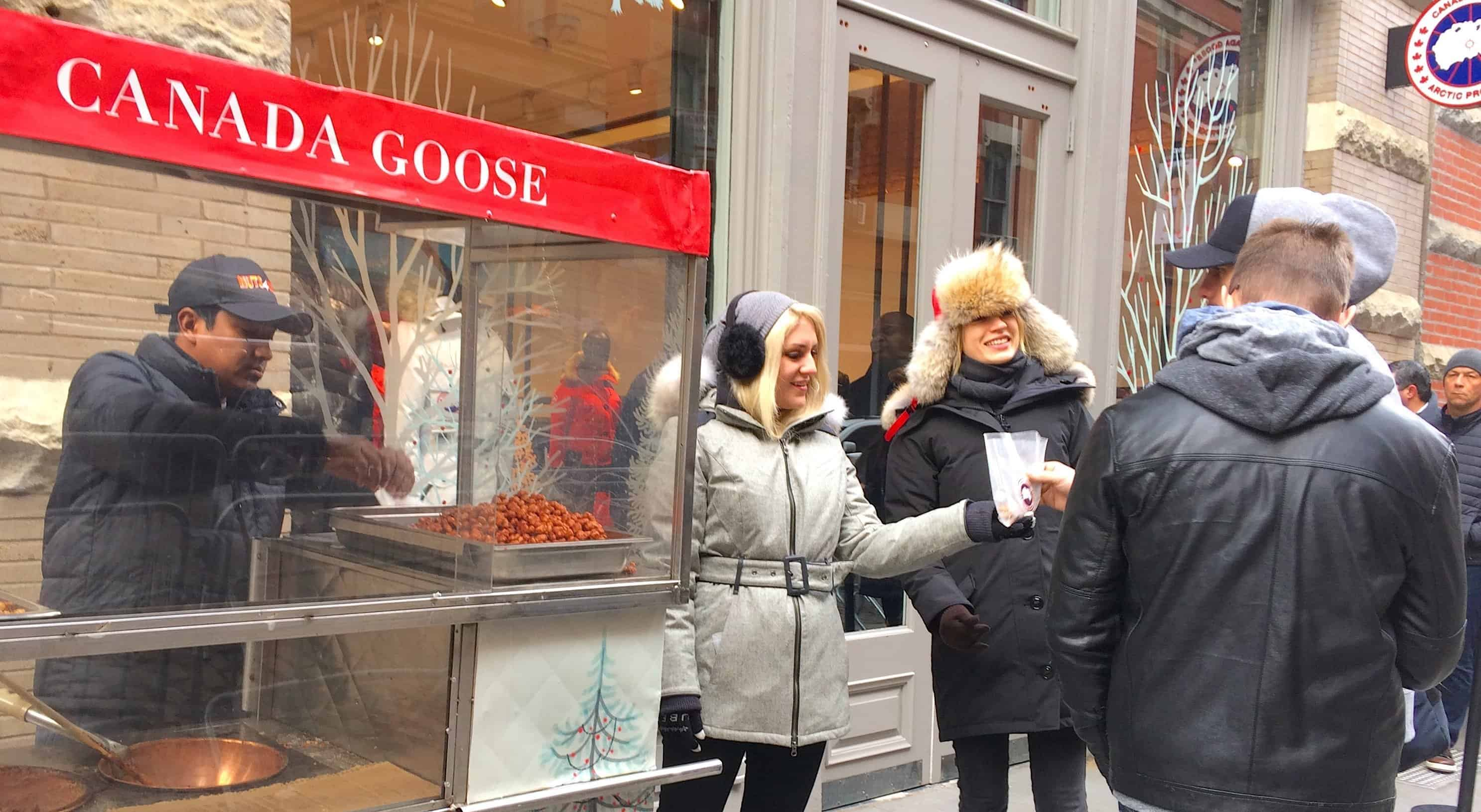Canada Goose Retail Marketing Activation - Soho, New York City