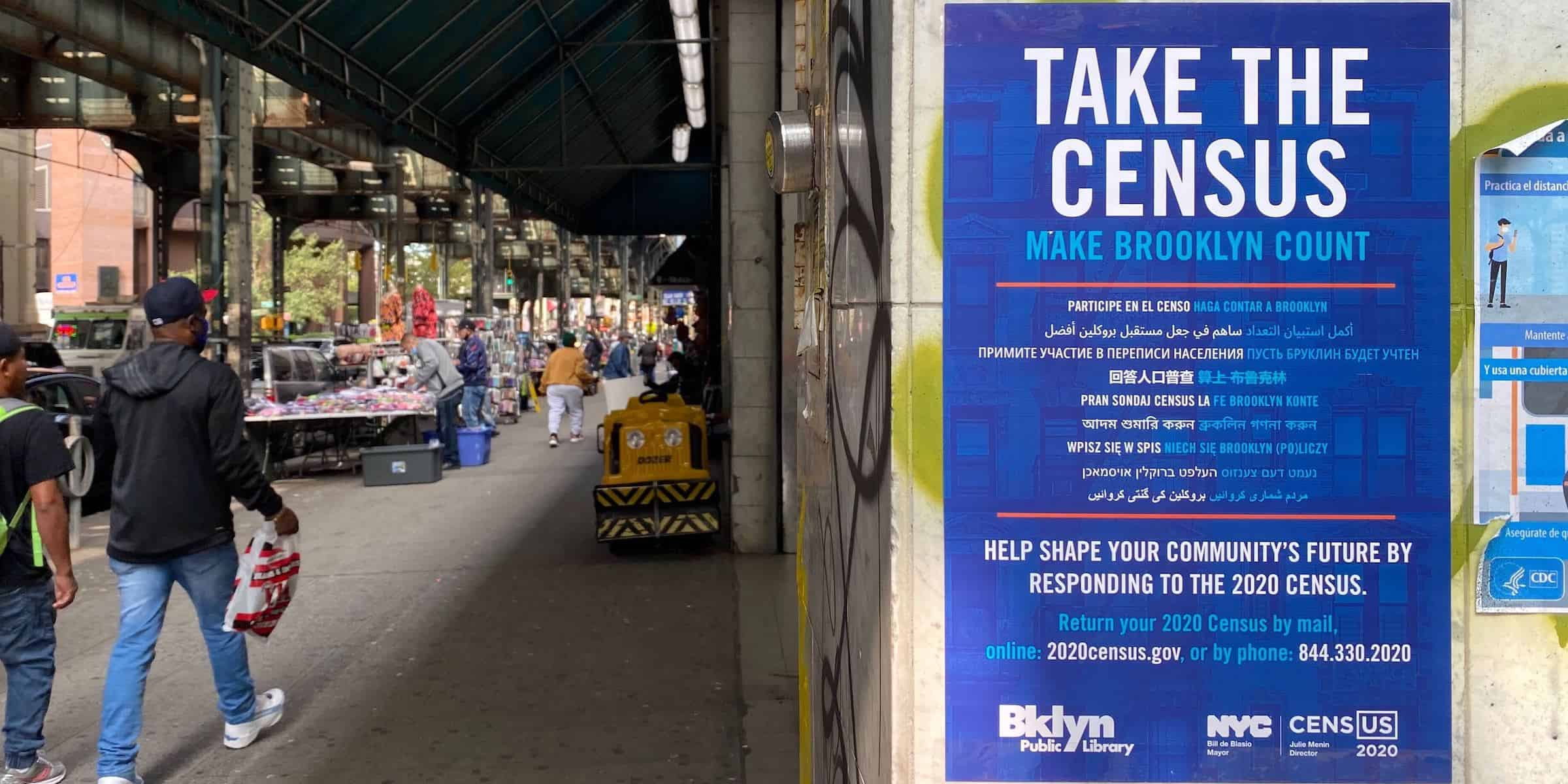 Census Poster Brand Activism Marketing - NYC