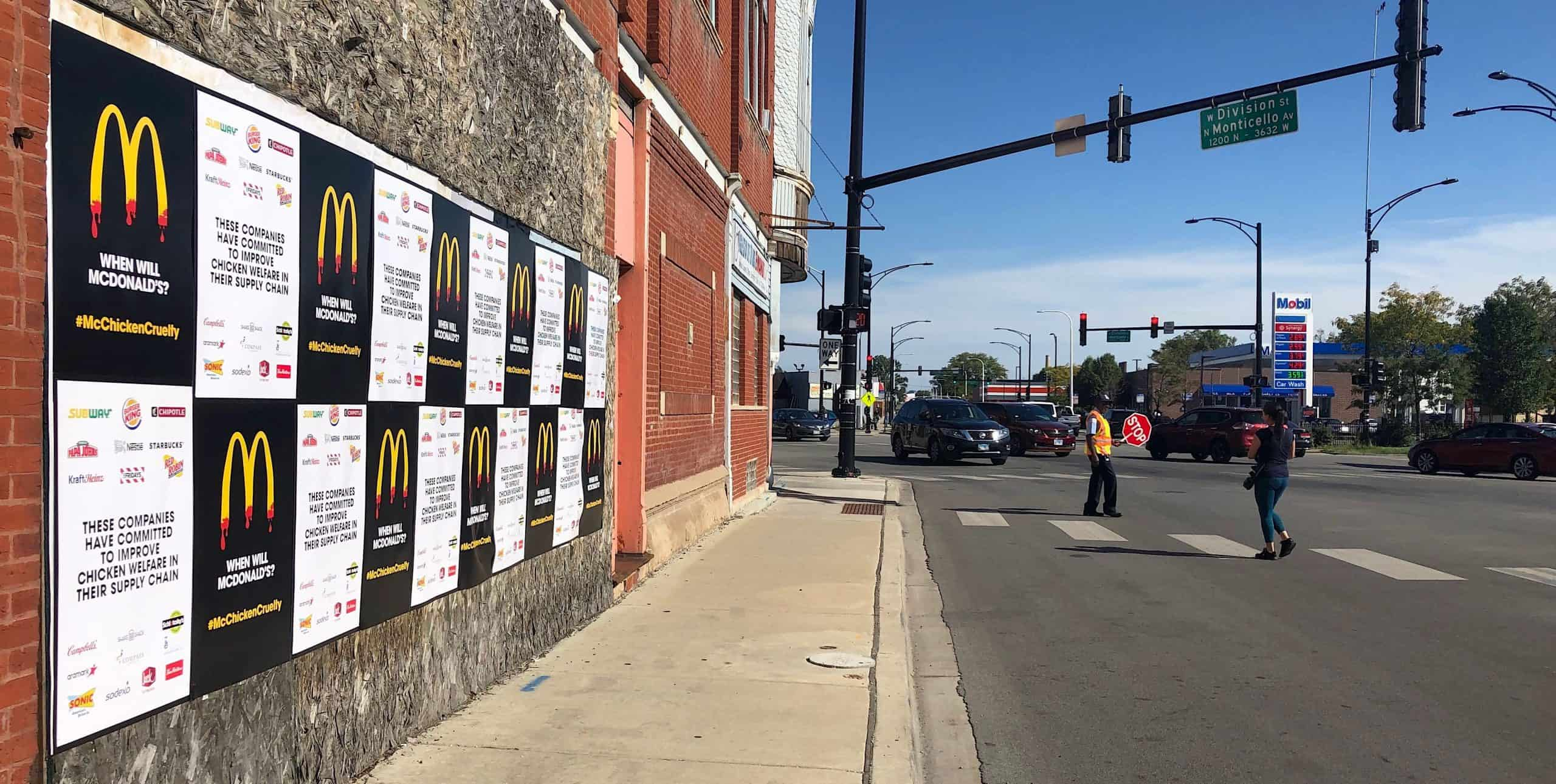 Chicago Nonprofit Cause Wild Postings Outdoor Advertising - Logan Square