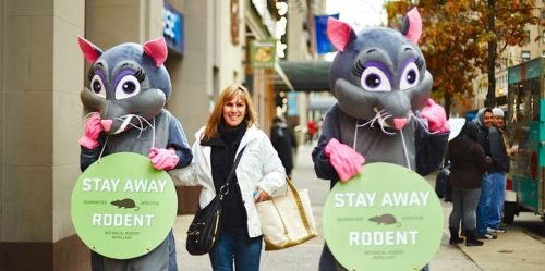 Costumed Character Street Team Marketing - Midtown, New York City