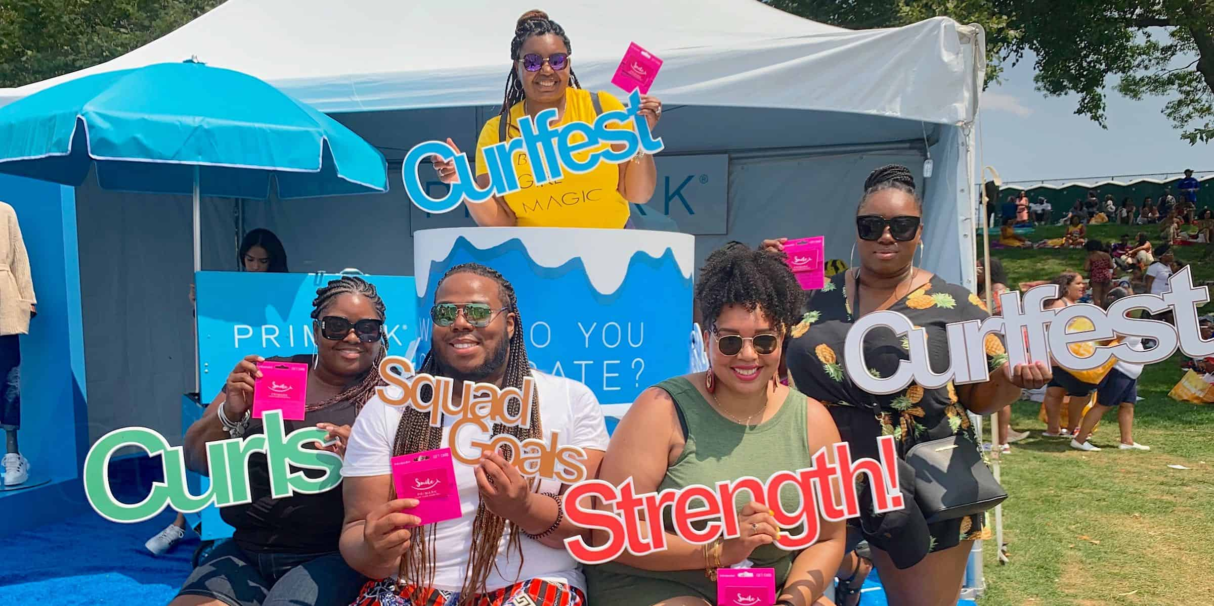 Curlfest Brand Experiential Marketing Creative Examples - NYC