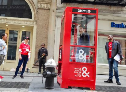 Street Experiential Brand Installation Activation Soho NYC