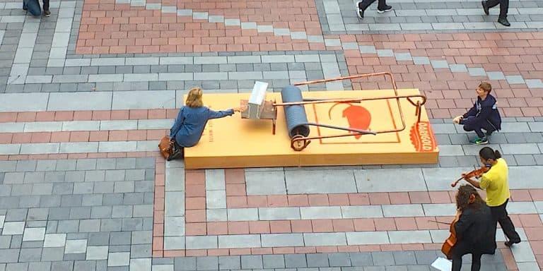 Darigold Cheese Brand Installation - Westlake Center, Seattle