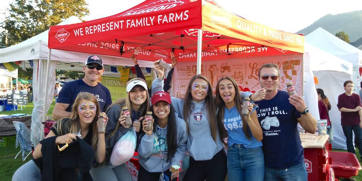 Darigold Milk Local Community Event Marketing