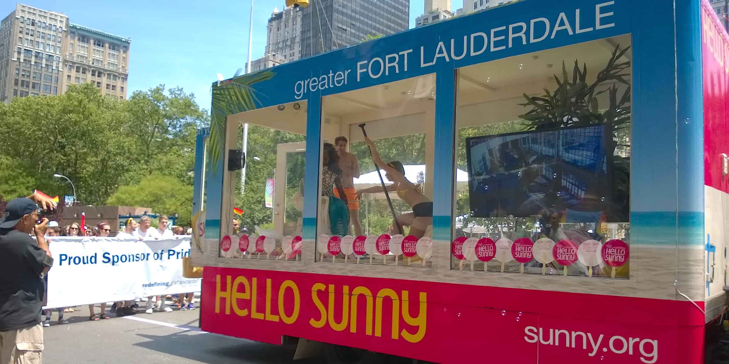 Florida Tourism Marketing Pride LGTB Activation - NYC PrideFest