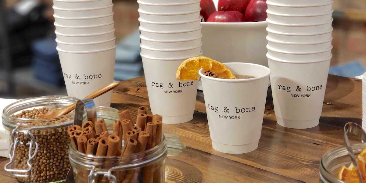 Hot Cider Bar Retail Marketing Example - NYC