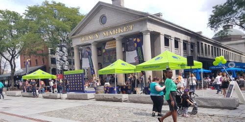 Hotel Experiential Marketing Activation - Faneuil Hall, Boston