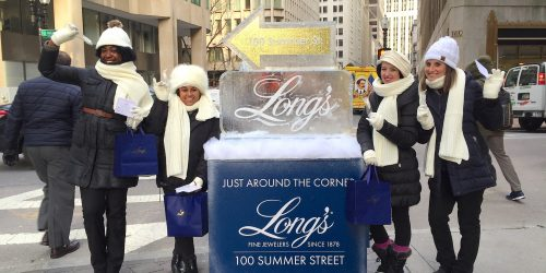 Jewelry Store Retail Marketing Street Experiential Activation - Downtown, Boston