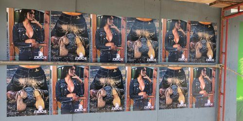 Jordache Wild Postings - Downtown Arts District, Los Angeles