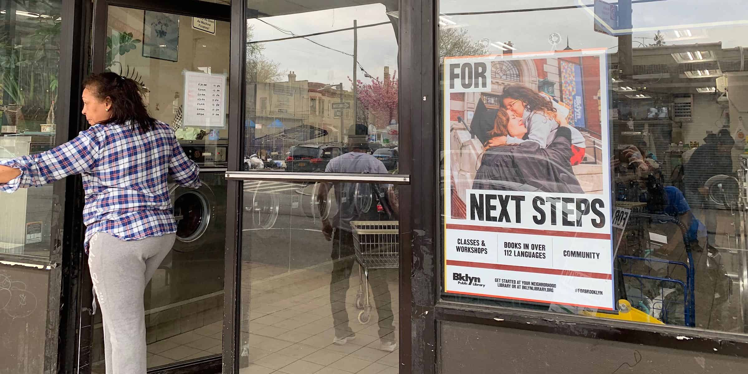 Laundromat 1-Sheet Poster Spanish Advertising Company - Brooklyn, New York City