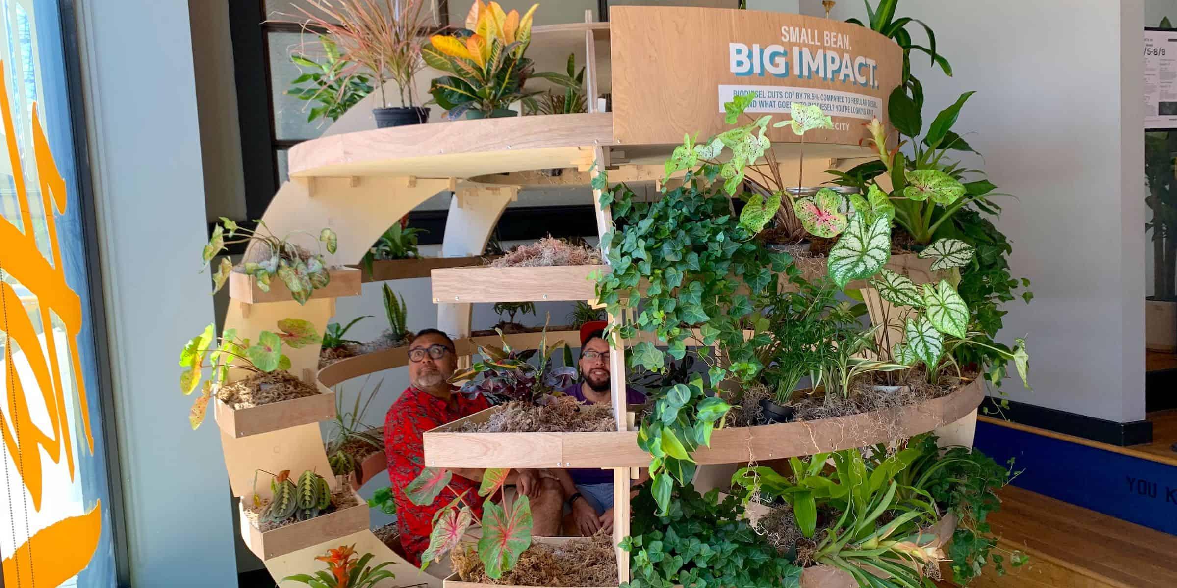 Live Plant Flora Brand Immersive Installation - Chicago