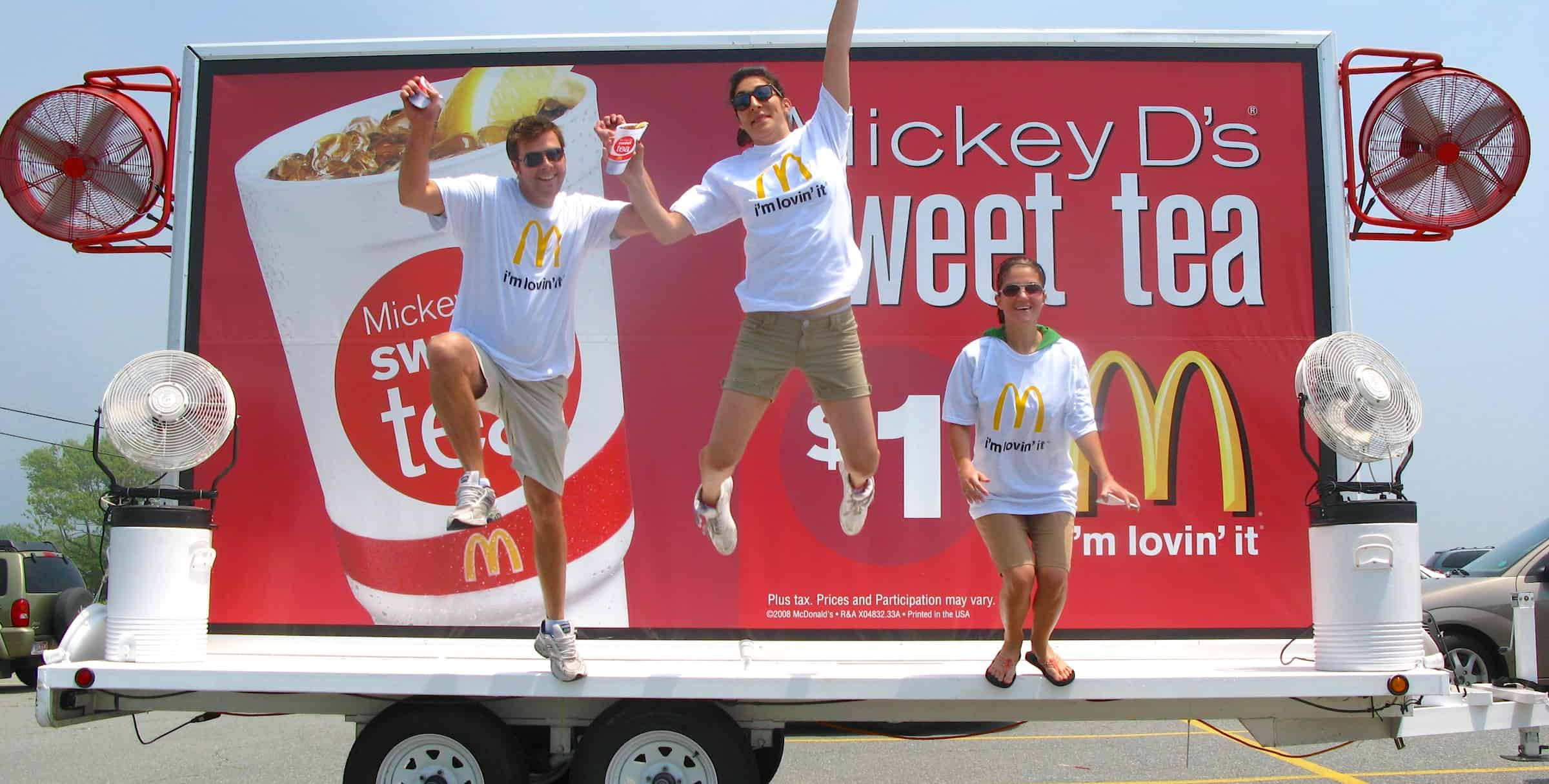 McDonald's Creative Mobile BIllboard Advertising Marketing
