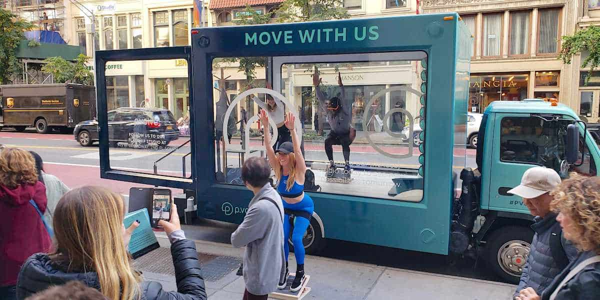 Mobile Pop-up Showroom Rolling Billboard Experiential Marketing Activation - NYC Example