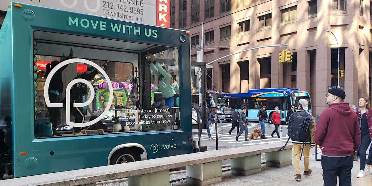 Mobile Pop-up Vehicle Experiential Marketing Activation Company Example - Financial District, NYC