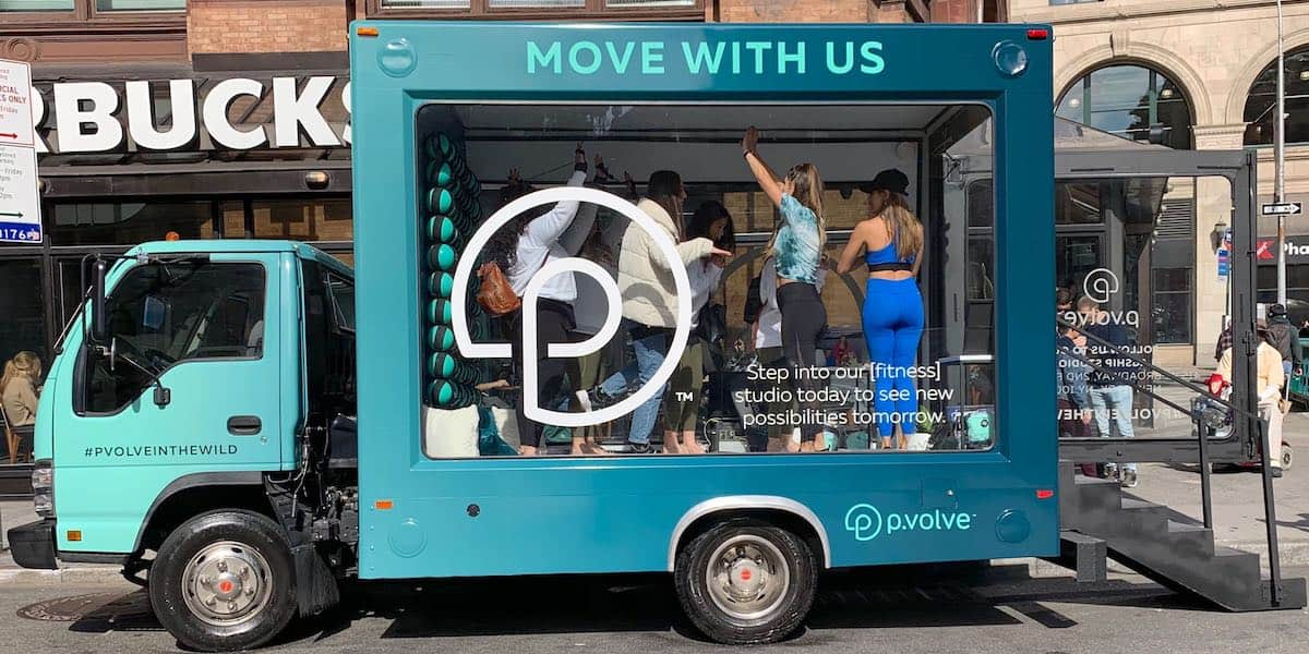 Mobile Showroom Fitness Studio Event Marketing Activation - New York City