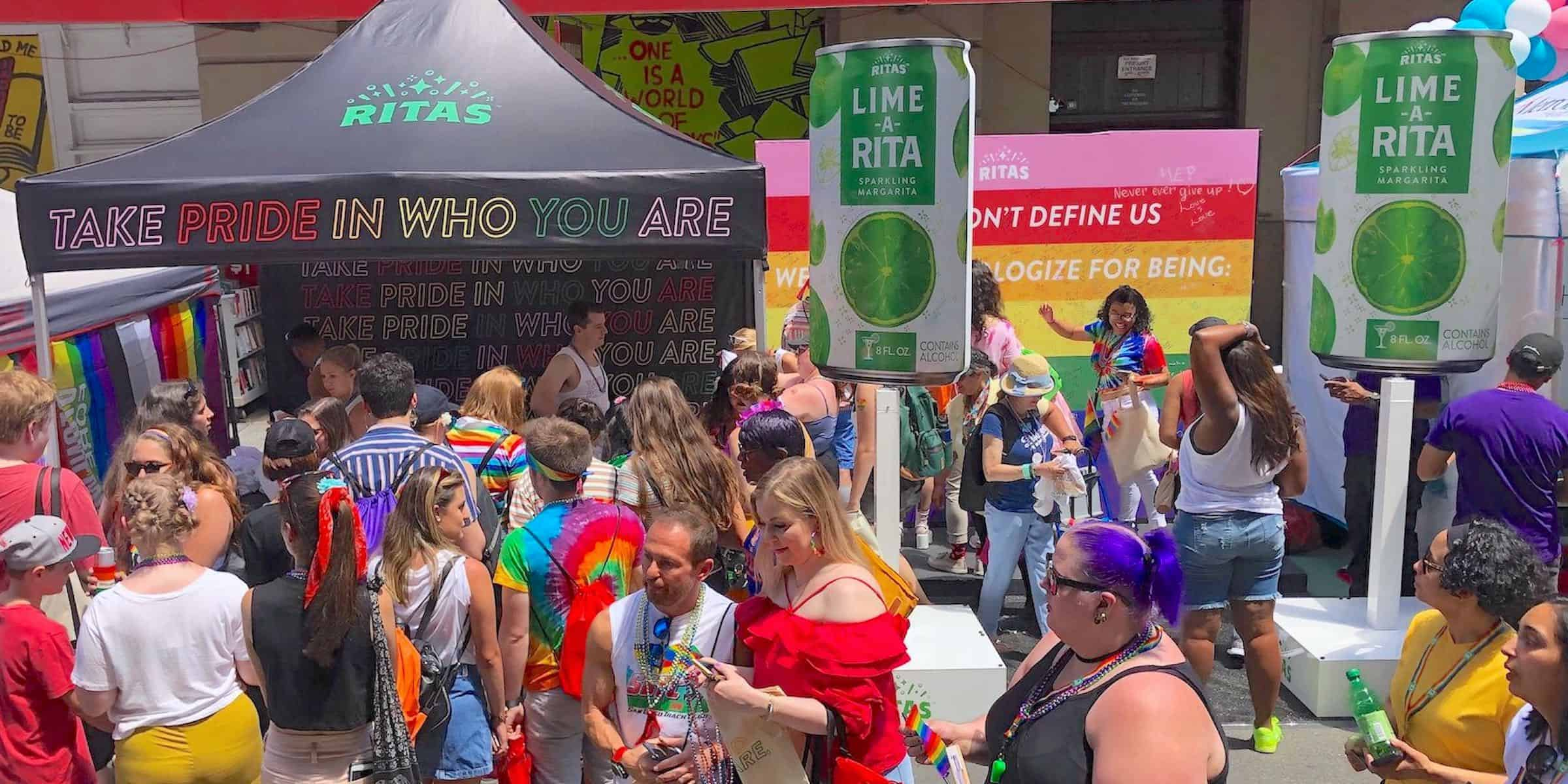 NYC Pride Fest Best Experiential Marketing Activation - New York City