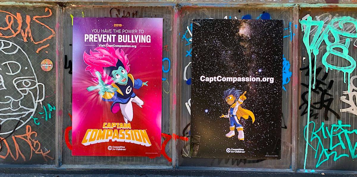 Nonprofit Anti-Bullying Wild Posting Company Example - LoDo, Downtown,