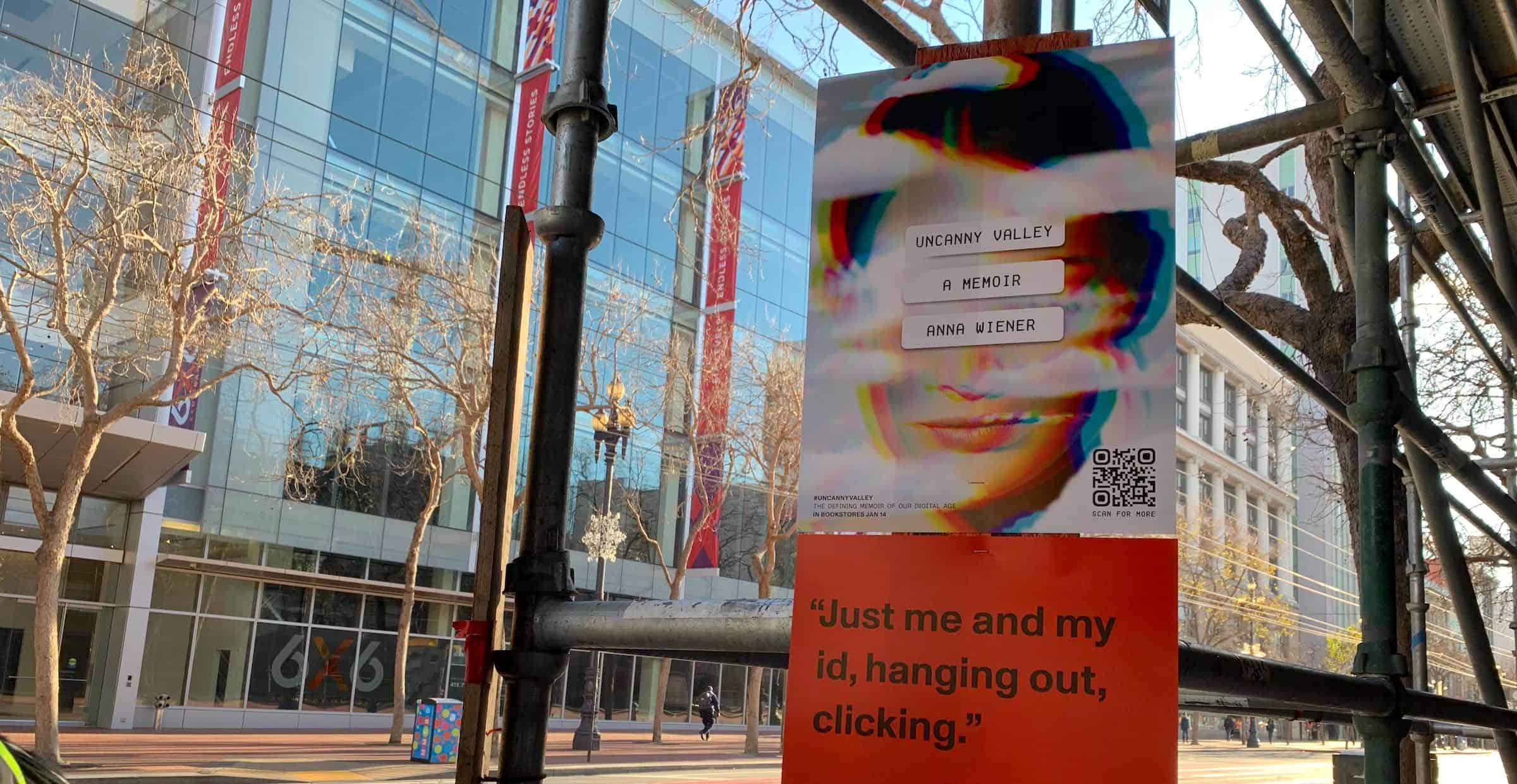 Poster Outdoor Advertising - Market Street, SF