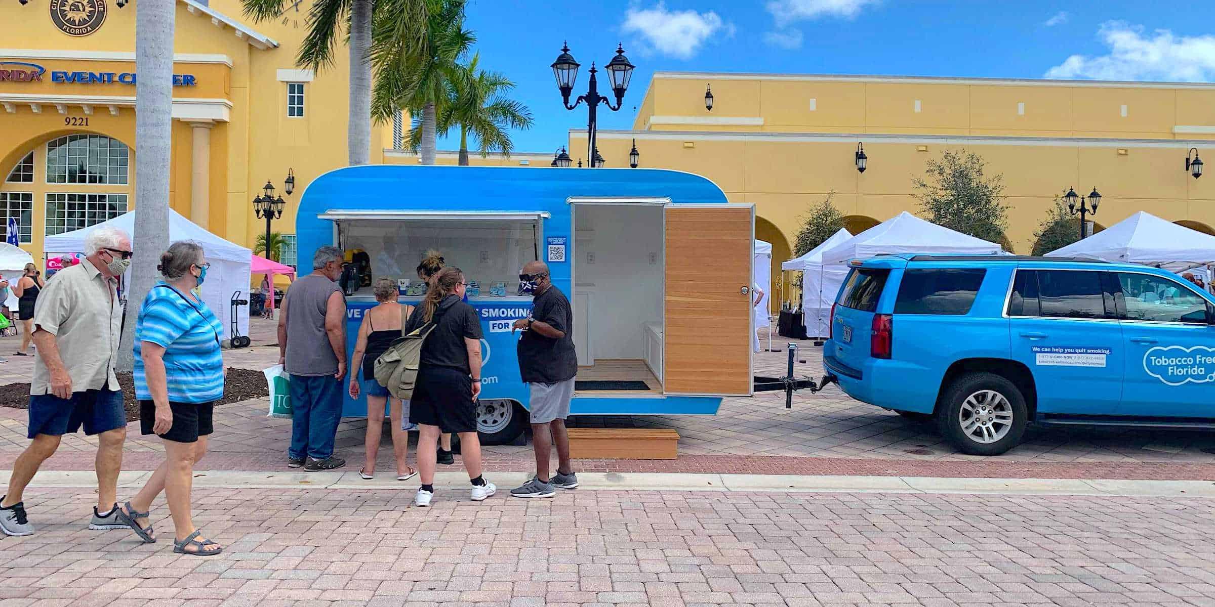Public Health Marketing Campaign Mobile Tour - Florida