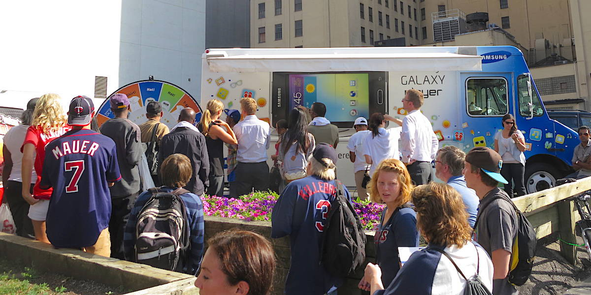 Samsung Experiential Marketing Tour - Minneapolis, MN