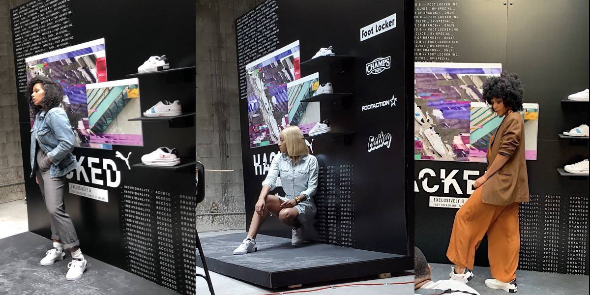 Sneaker Step & Repeat Influencer Experiential Marketing Event - New York City