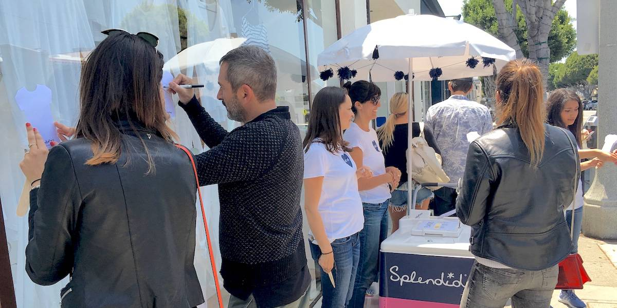 Splendid Retail Marketing Store Event Experience - Los Angeles