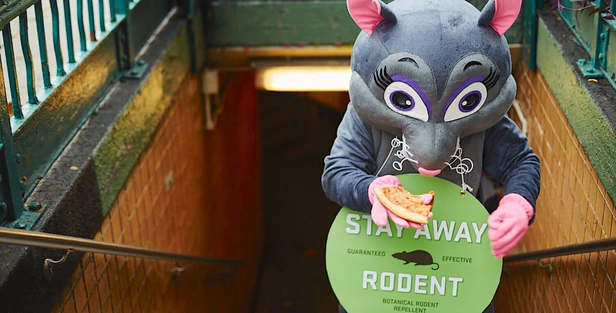 Subway Costumed Character Marketing Advertising Activation - New York City