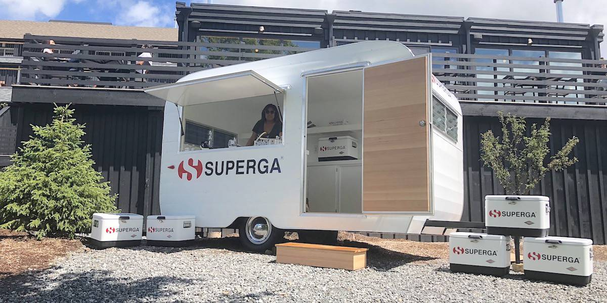 Superga Sneaker Airstream Camper Popup Shop Marketing - Hudson Valley, New York