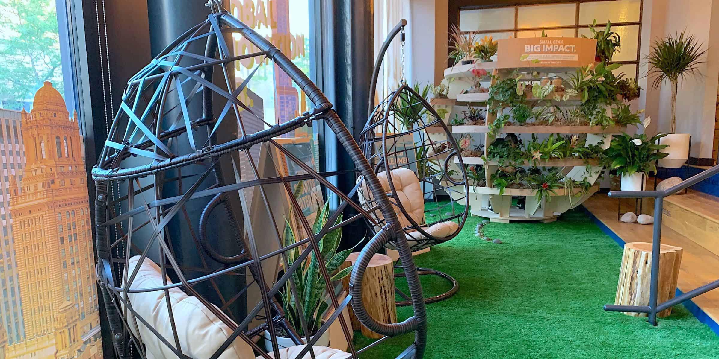 WeWork Lounge Immersive Brand Installation - Chicago, IL