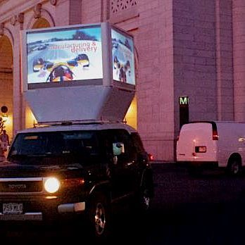 Digital Mobile Billboard Truck Advertising - Washington DC