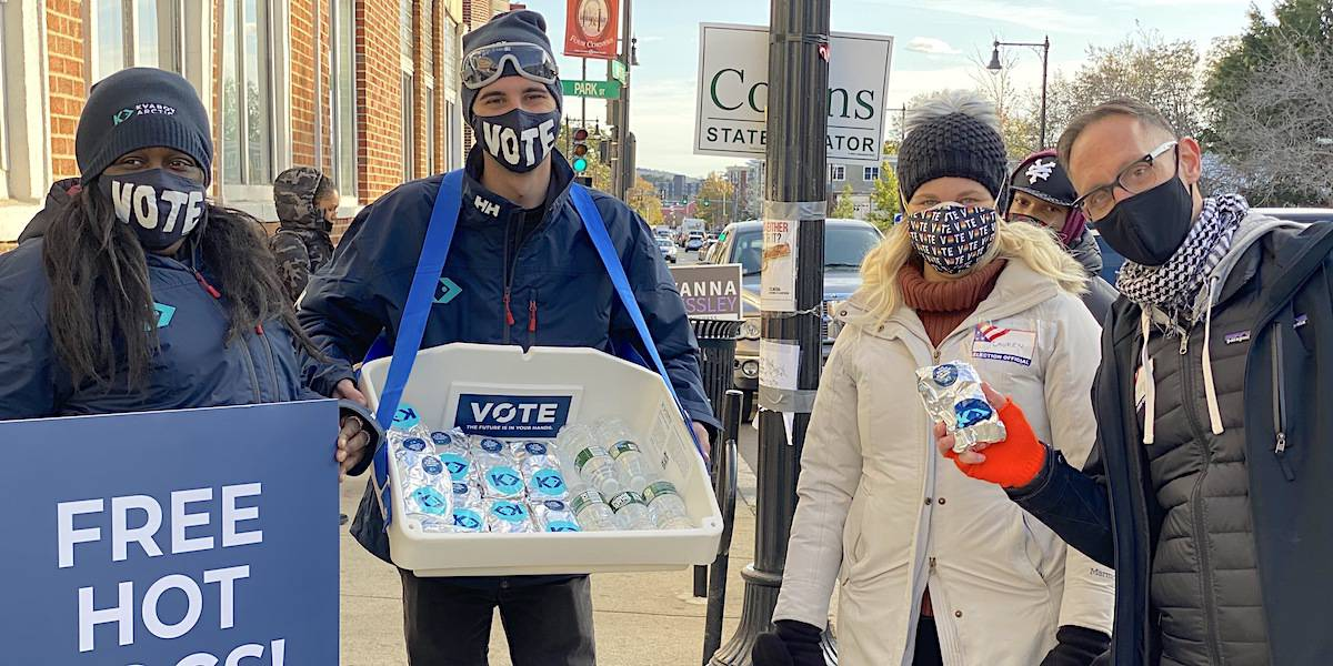 Get Out The Vote Brand Activism Company Example - Boston