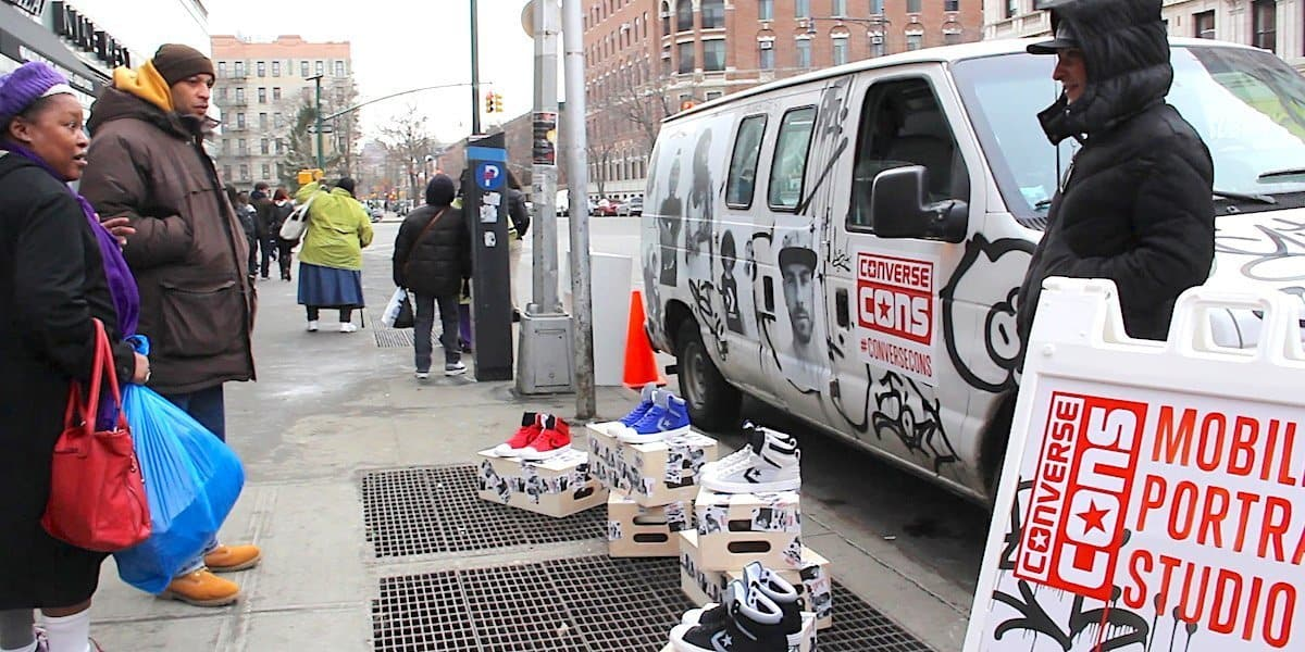 Converse Mobile Popup Shop - Harlem 125th Street, New York City