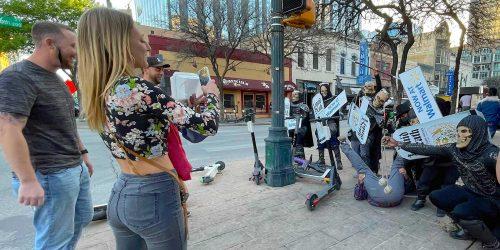 street team flash mob austin